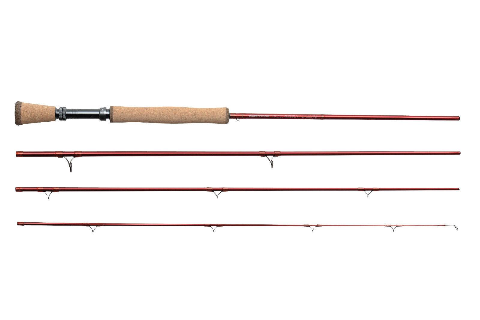 Scierra edp V2 fly fishing rod WF5 9' 0  4 section truite arc-en-ciel ombre pike