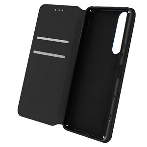 Cuir synthétique Cover Classic Edition, Klappetui pour Sony Xperia 5 III – Noir