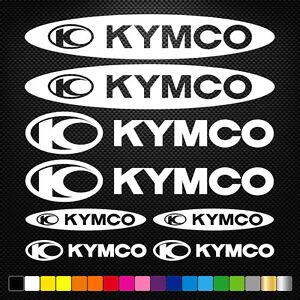 COMPATIBLE-KYMCO-12-Autocollants-Adhesifs-Auto-Moto-Voiture-Sponsor-Marques