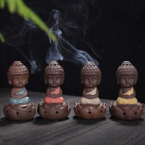 Buddhismus-Moenche-Raeuchergefaess-Keramik-Stick-Kegel-Halter-Rueckfluss