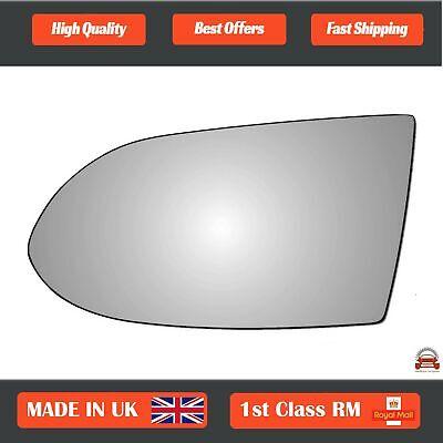 Left Hand Passenger Side Vauxhall Zafira A 1999-2005 Convex Wing Mirror Glass