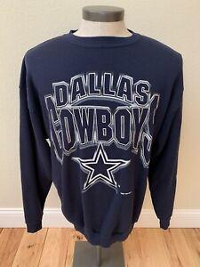wholesale dealer cc5a9 b69a6 Details about Vintage Mens Dallas Cowboys Crew Neck Sweatshirt XL Logo 7  Made In USA 1996