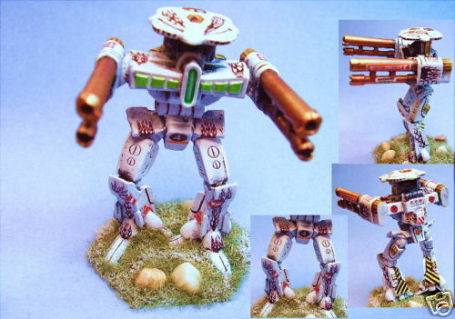slåsstech målad Rifleman IIC slåssmech HHW