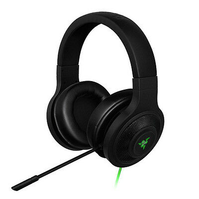 Razer Kraken USB Essential 7.1 Surround Sound Gaming Headset for PC/Mac/PS4