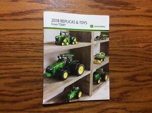 RARE-New-2018-John-Deere-Pocket-Ertl-Toy-Book-100-Years-Of-Tractors