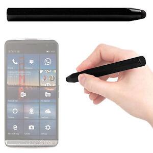 Durable-Chunky-Black-Touchscreen-Mini-Stylus-Pen-For-HP-Elite-X3-Smartphone