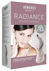 Homedics Beauty Radiance Microdermabrasion Facial Skin Exfoliator