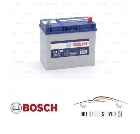 Bosch Starterbatterie S4 Auto batterie Akku 330A 45Ah Daihatsu Honda Suzuki 1.6