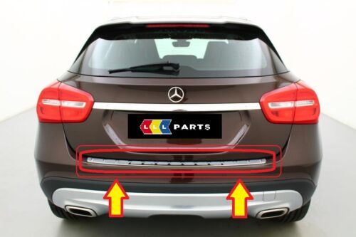 Nuevo Genuino Mercedes Benz MB GLA Clase X156 Parachoques Trasero Carga Alféizar proteger
