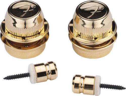 Gold Fender F Strap Locks