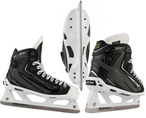 Sr CCM RibCor 50K Pump Goalie Skates