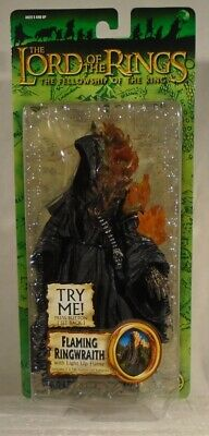 Flaming Ringwraith LORD OF THE RINGS Toy Biz Fellowship of the Ring MOC