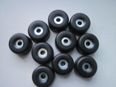 """9//16/"""" Small Rubber Foot with Steel Washer 15mm"""