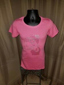 Fight-Cancer-bling-tshirt-Ladies-size-Medium