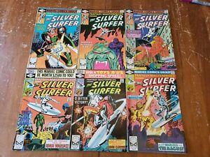 The-Silver-Surfer-Comics-Marvel-Comics-Lot-of-6-1980s