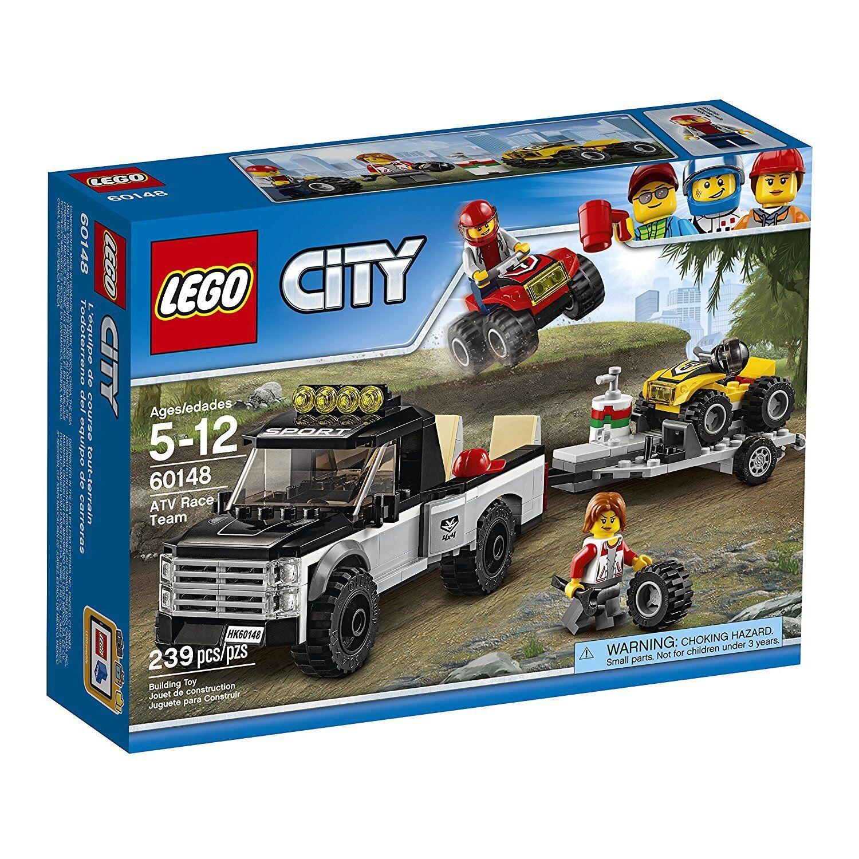 Lego Lego Lego city race team - building - spielzeug hat atv 60148 (239 st  ck) 189810