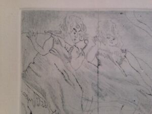Jules-Pascin-034-Cinderella-034-authenticated-etching-signed-on-plate-Rivas-Paper