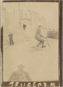 Snapshot Bicicletta 2 Foto Anonimo Vintage Analogica PL34L2P60