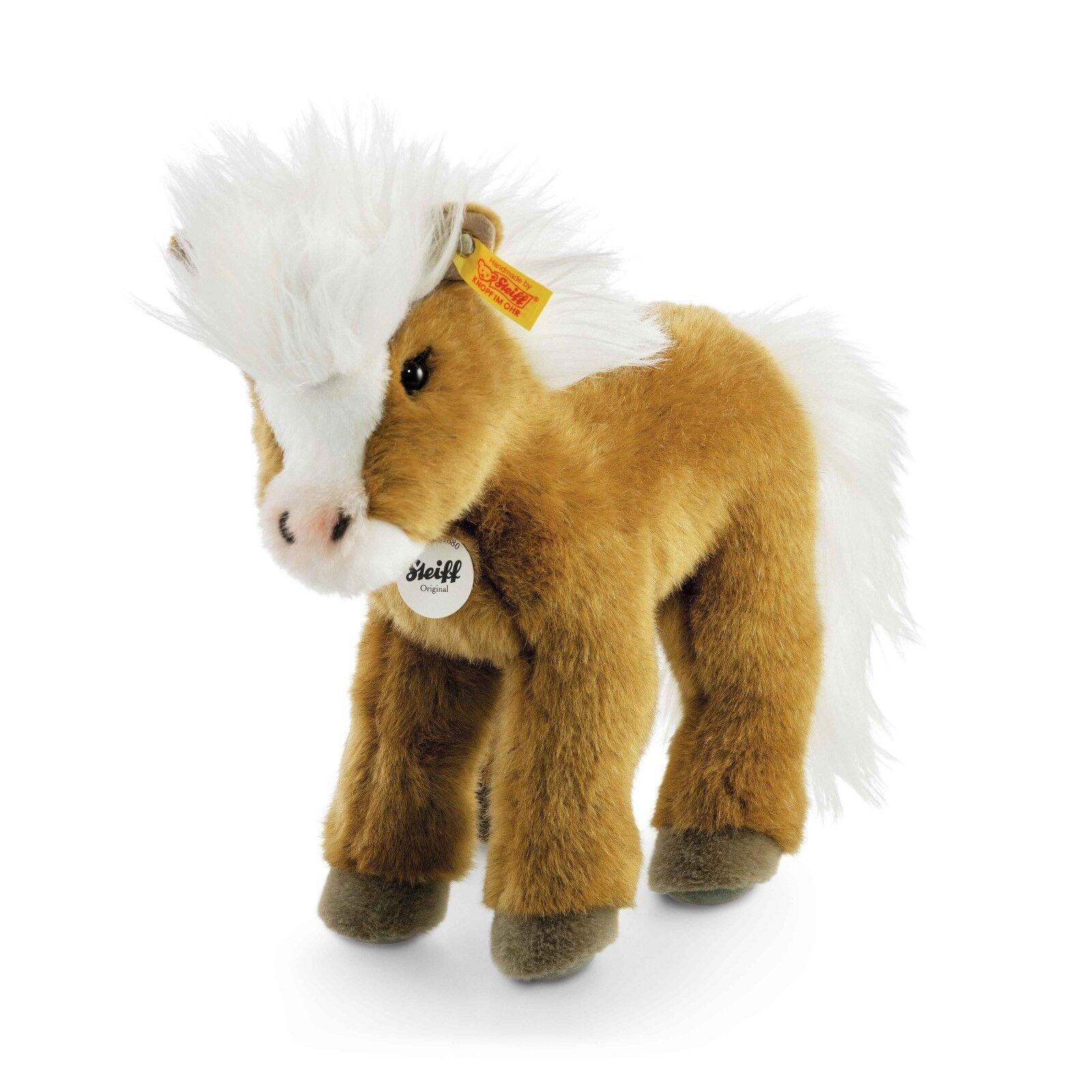 STEIFF Pony Fanny braun stehend 30 cm 070655 NEU