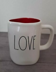 NEW-RAE-DUNN-by-Magenta-Valentine-039-s-LOVE-Coffee-Tea-Mug-Farmhouse-Home-Decor