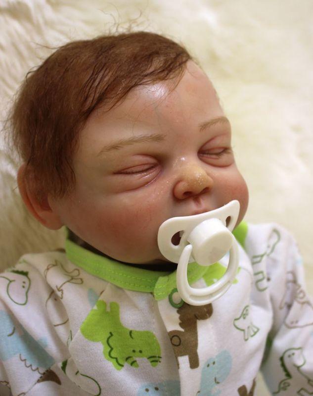 20  Muñeca realista muñeca bebé reborn pintado a mano realista Recién Nacido Bebe Muñeca