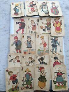 VECCHIE CARTE DA GIOCO SPEAR BAMBINI PLAYING CARDS