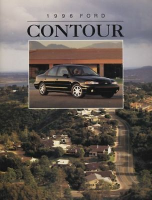 1994 Ford Aspire Kia 121 Original Sales Brochure Book