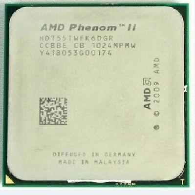 Amd Phenom Ii X6 1055t 2 8 Ghz Six Core Cpu Processor Hdt55twfk6dgr Am3 95w