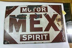 very-rare-Mex-spirit-early-1920-039-s-enamel-sign