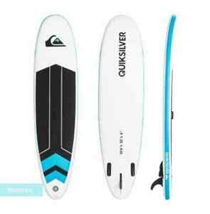 Planche-SUP-gonflable-quiksilver-Isup-pompe-pagaie-3-pieces-sac-kit-repa