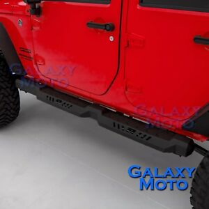 4-Door-Rock-Crawler-Side-Armor-Slider-Running-Board-for-07-18-JEEP-JK-Wrangler