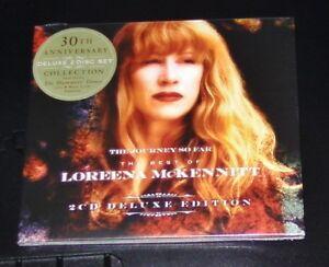 LOREENA-MCKENNITT-THE-JOURNEY-SO-FAR-BEST-OF-DELUXE-EDITION-DOPPEL-CD-NEU-amp-OVP