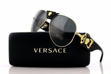 872a19de88bc item 2 Men Pilot Aviator Crystal Gold Black Unisex Authentic Italy Versace  Sunglasses -Men Pilot Aviator Crystal Gold Black Unisex Authentic Italy  Versace ...