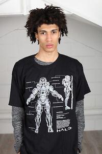 Official-Aureola-5-Anatomia-T-Shirt-Unisex-Squadra-Master-Capo-Spartan-Gioco