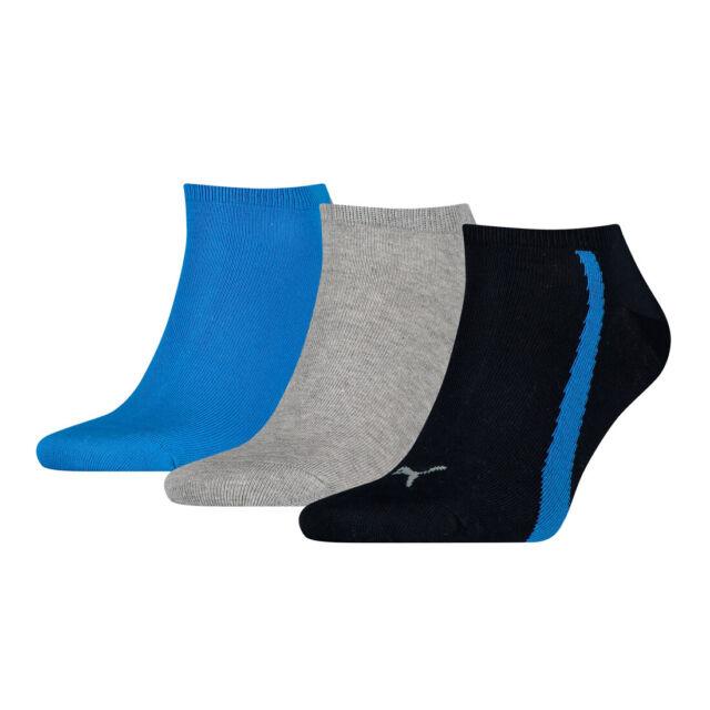 6 x Puma Sneaker Socken Füßlinge navy//grey//blue 39//42