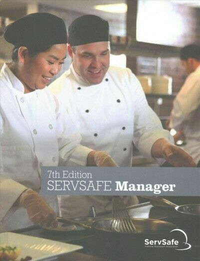 ServSafe ManagerBook with Answer Sheet 7th Edition | eBay