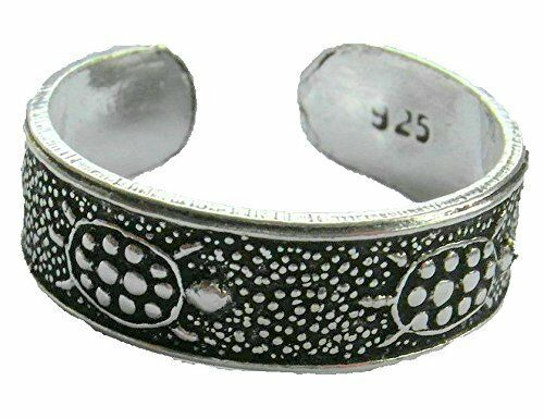 Sterling Silver (925) Adjustable  Turtles Toe Ring  !!     Brand   New !!