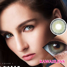 Kontaktlinse Contact Lenses Color Cosmetic Soft Big Eyes Makeup Lens MAMIYA Gray