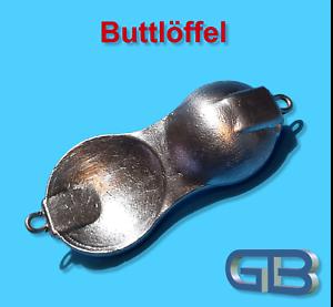 Buttloeffel-Flatty-Butt-amp-Plattfisch-80g-100g-120g-Meereskoeder