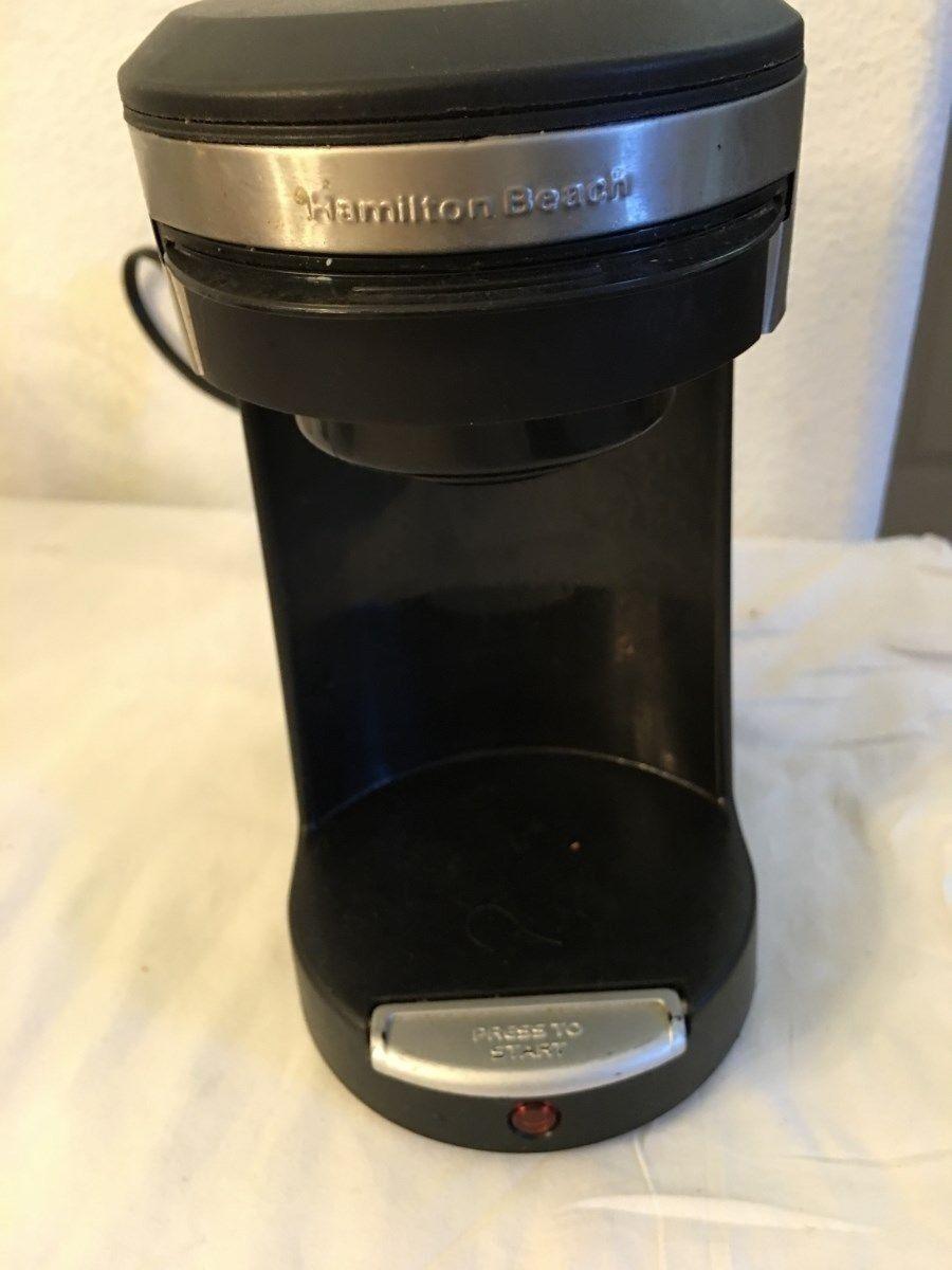 HAMILTON BEACH SINGLE SERVE COFFEE BREWER SINGLE CUP POD-TYPE A70-500 WATT-EUC