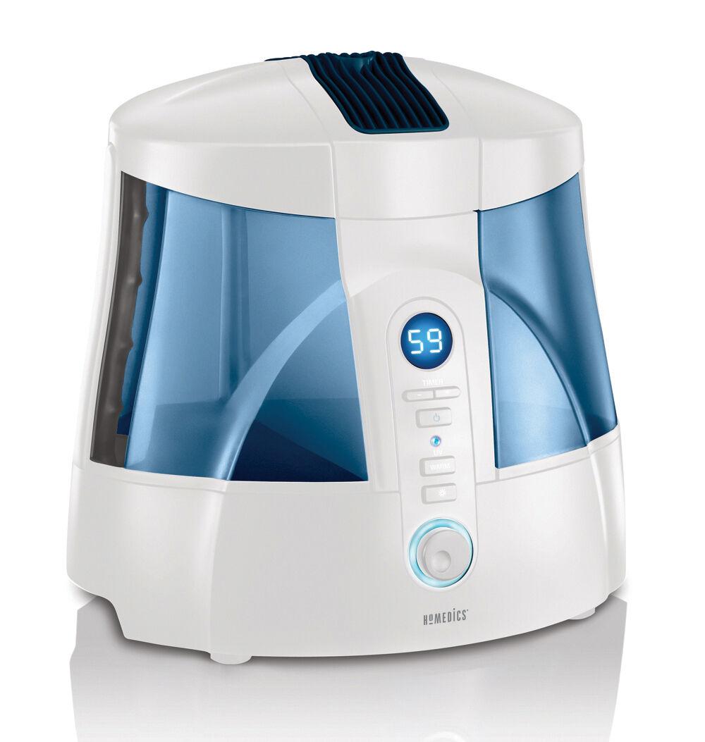 HoMedics Warm and Cool Mist Ultrasonic Uv c Humidifier Hum20a