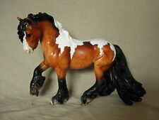 Breyer Horse Statue OOAK CM/Custom Fell Pony Dappled Bay Pinto