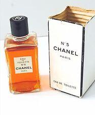 VTG. Chanel No. 5 Eau de Toilette P.M. 4 OZ. Old Formula  - w SEAL NEVER OPENED