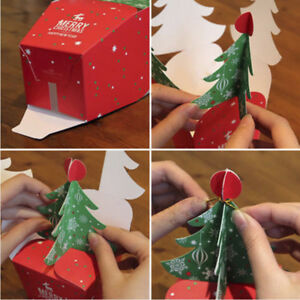 Christmas-Tree-Cookie-Fudge-Candy-Box-Xmas-Gift-CASE-Bags-Tree-Hanging-Ornaments