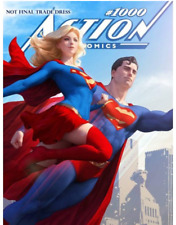 Action Comics #1000 Artgerm Exclusive Variant Cover Limited Edition buymetoys