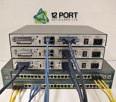CISCO Lab CCNA  CCNP CCIE (Router Switch 1841 2610XM 2950 3550 #002 )
