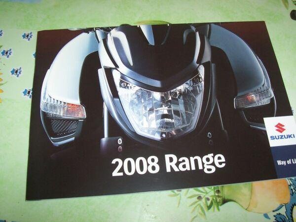 100% Kwaliteit Catalogue / Brochure Suzuki Gamme / Range 2008 // Consumenten Eerst