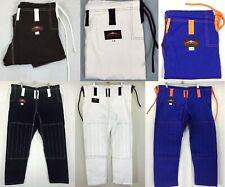 KANKU Jiu jitsu pants Grappling pants Blue Trouser Bjj Pants MMA Kids Adult