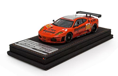 1 43 2010 Tecnomodel FERRARI 430 GT2  71 SQUADRA DAISHIN-ASIATICHE le Mans Series