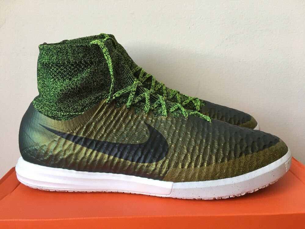 Men's Nike MAGISTAX PROXIMO IC Dark Citron, Black White Volt Green Shoes 12.5 The most popular shoes for men and women